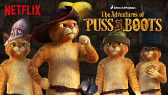 Netflix box art for The Adventures of Puss in Boots - Season 5